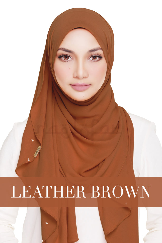 LADY WARDA - LEATHER BROWN
