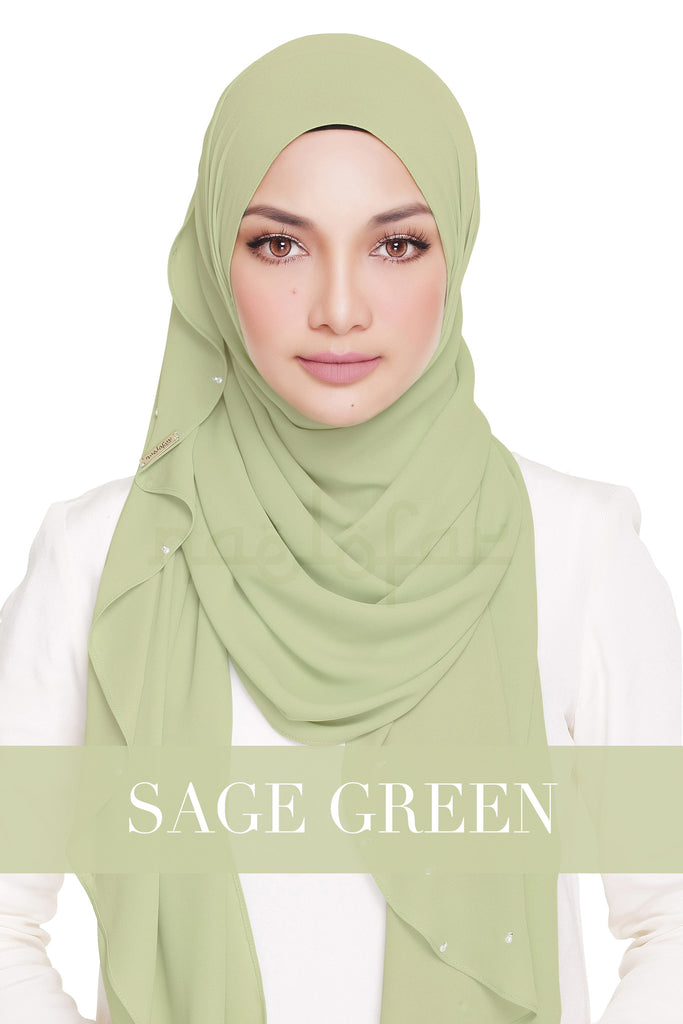 LADY WARDA - SAGE GREEN