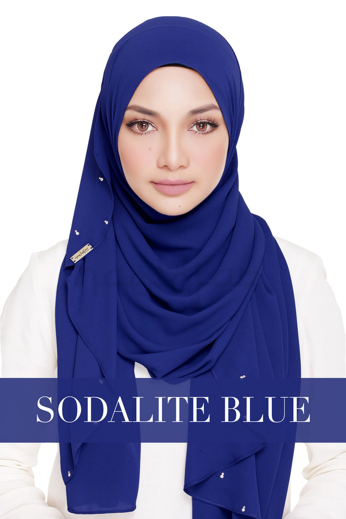 LADY WARDA - SOLIDATE BLUE