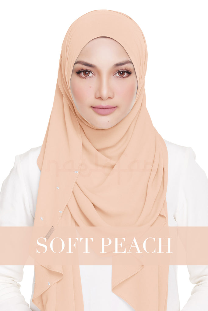 LADY WARDA - SOFT PEACH