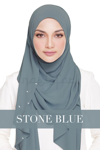LADY WARDA - STONE BLUE