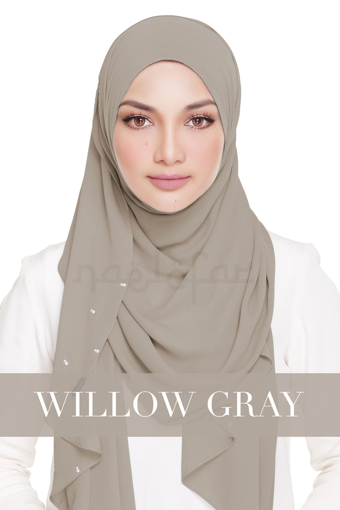 LADY WARDA - WILLOW GREY