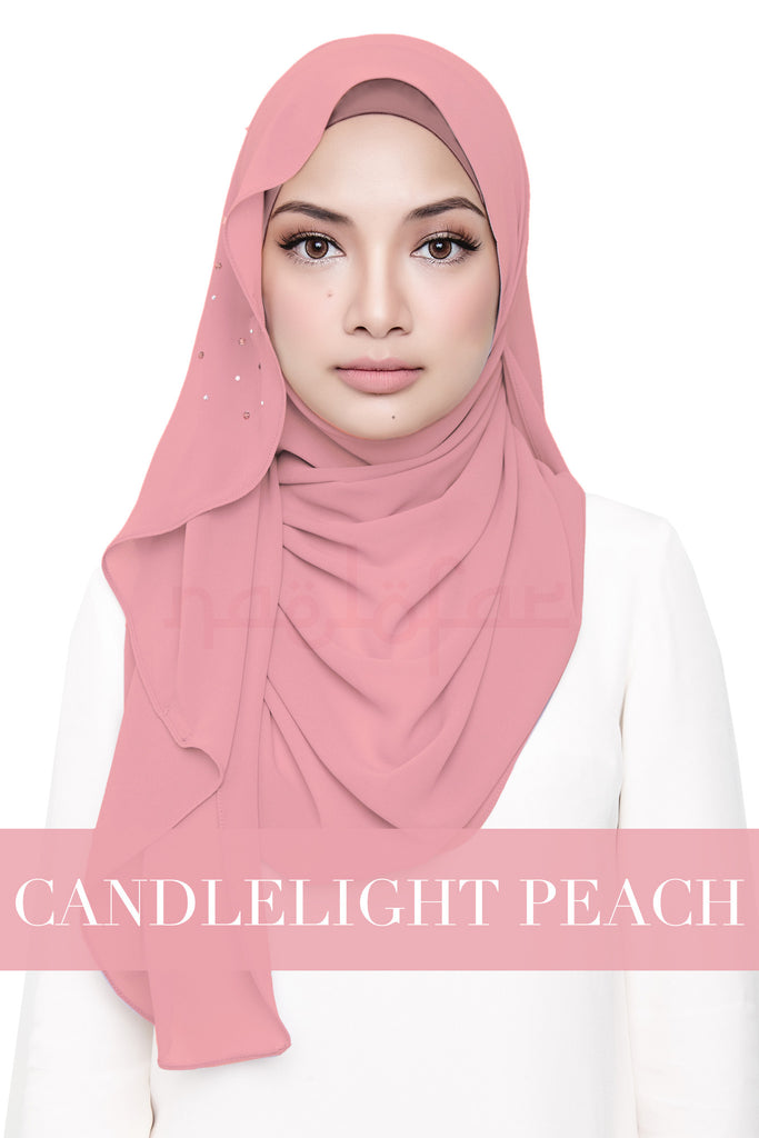 LATIFFA - CANDLELIGHT PEACH