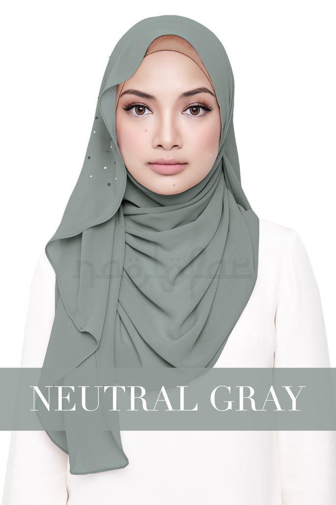LATIFFA - NEUTRAL GRAY