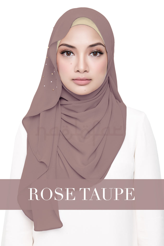 LATIFFA - ROSE TAUPE