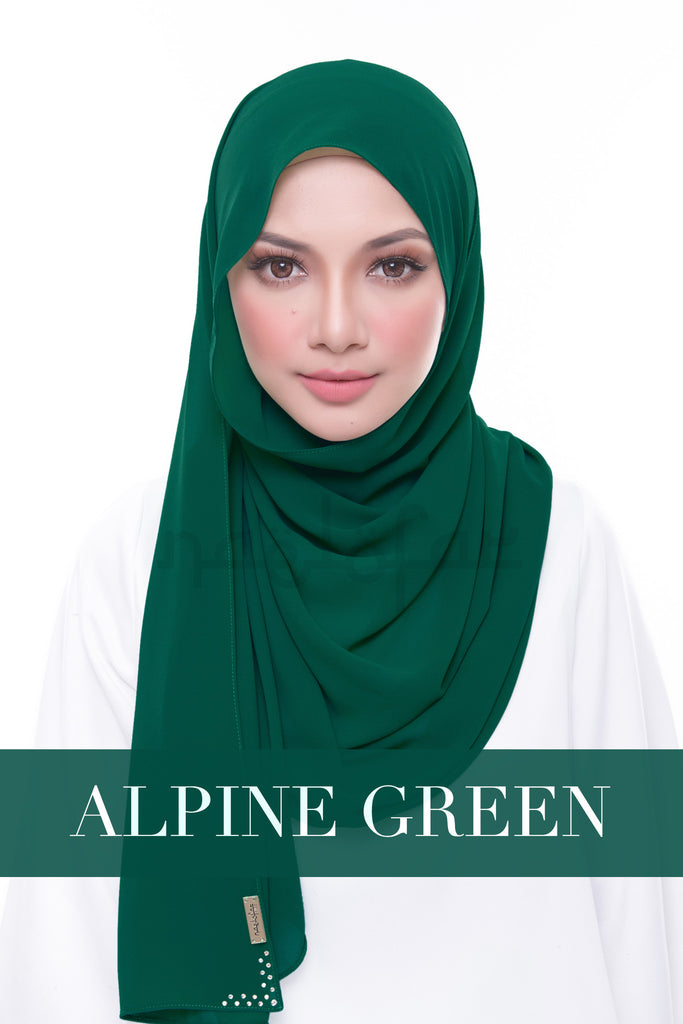 MISS LOFA PLAIN - ALPINE GREEN
