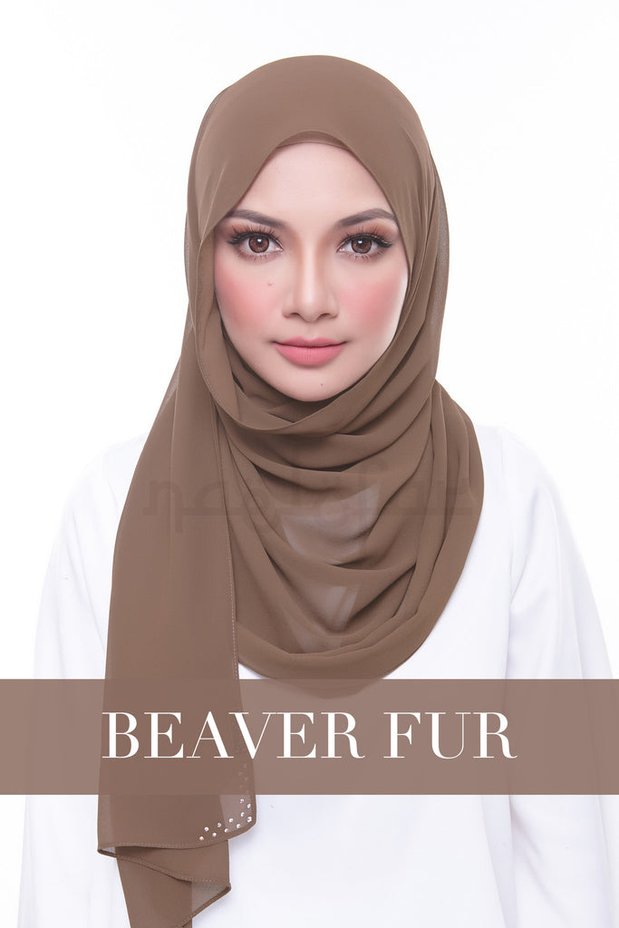 MISS LOFA PLAIN - BEAVER FUR