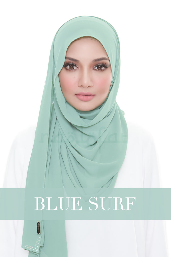 MISS LOFA PLAIN - BLUE SURF
