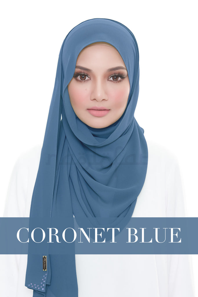 MISS LOFA PLAIN - CORONET BLUE