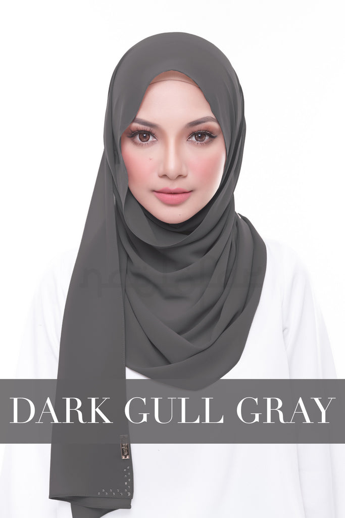 MISS LOFA PLAIN - DARK GULL GRAY