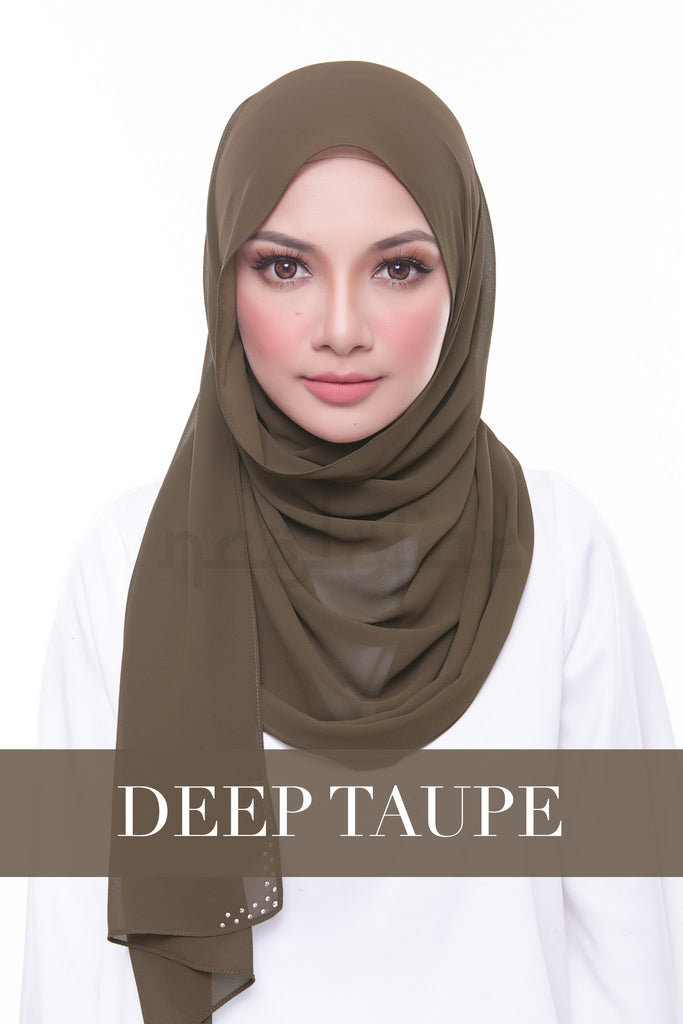 MISS LOFA PLAIN - DEEP TAUPE