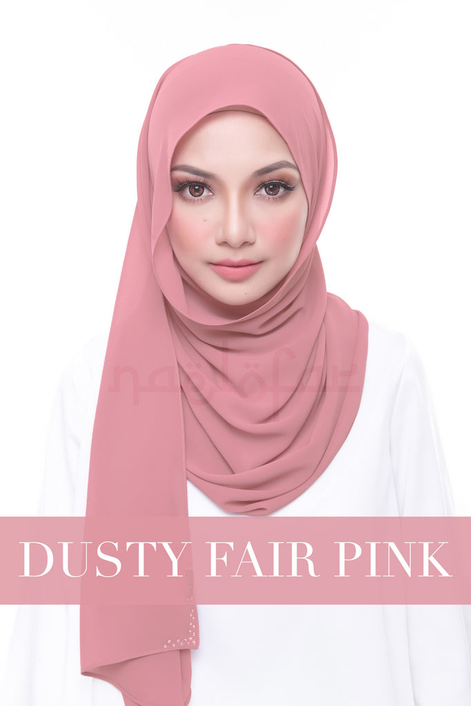 MISS LOFA PLAIN - DUSTY FAIR PINK