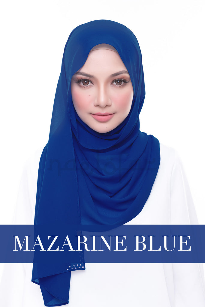 MISS LOFA PLAIN - MAZARINE BLUE