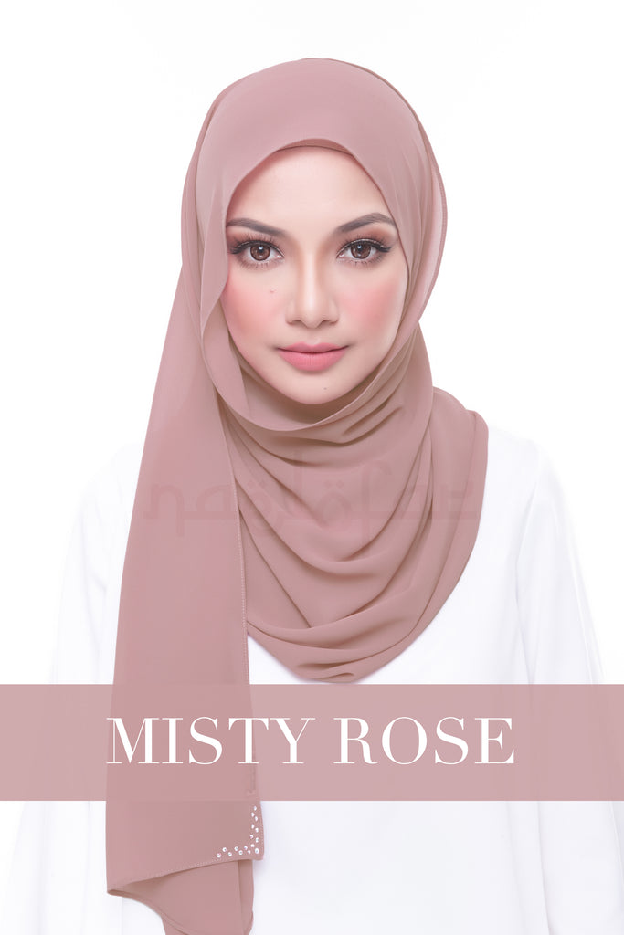 MISS LOFA PLAIN - MISTY ROSE