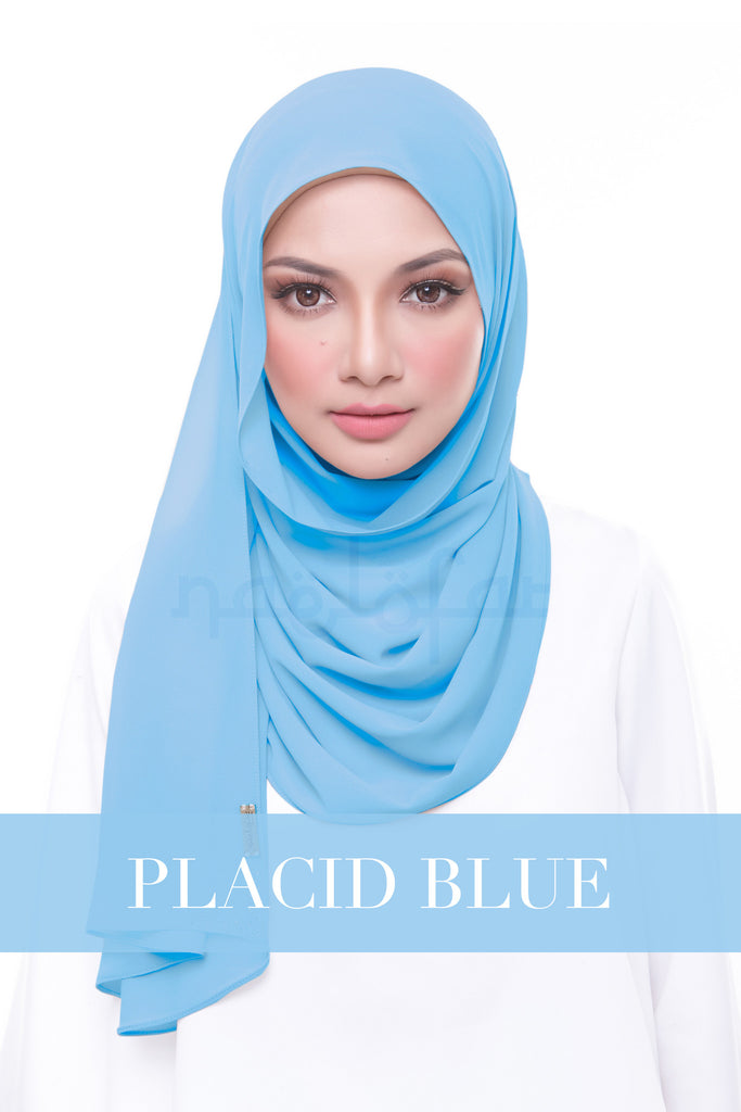 MISS LOFA PLAIN - PLACID BLUE