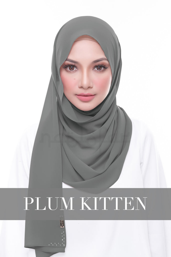 MISS LOFA PLAIN - PLUM KITTEN