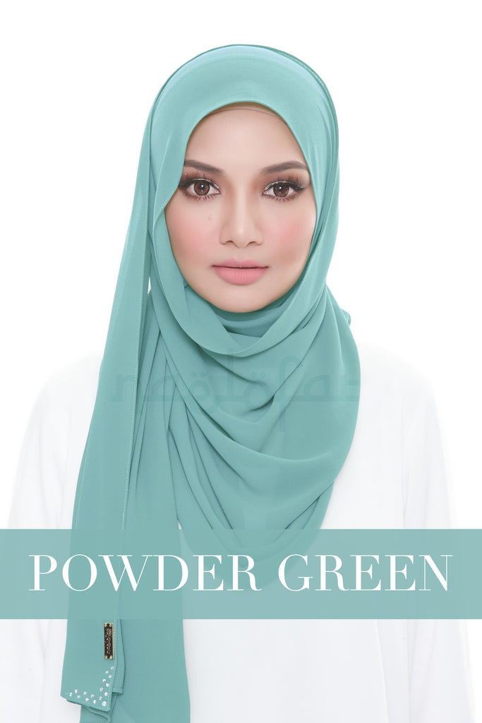 MISS LOFA PLAIN - POWDER GREEN