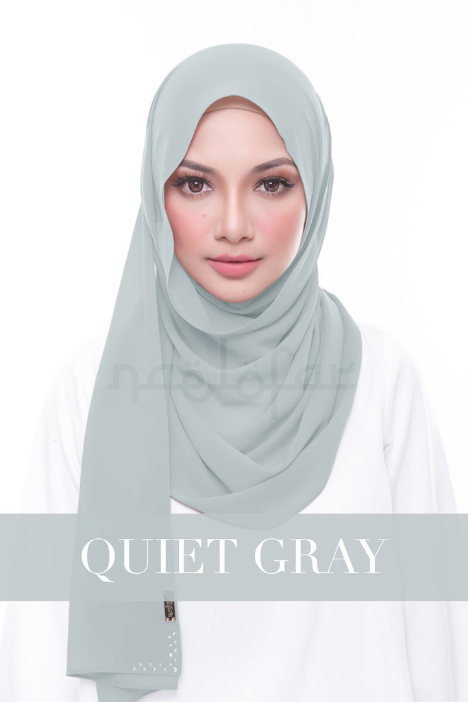 MISS LOFA PLAIN - QUIET GRAY