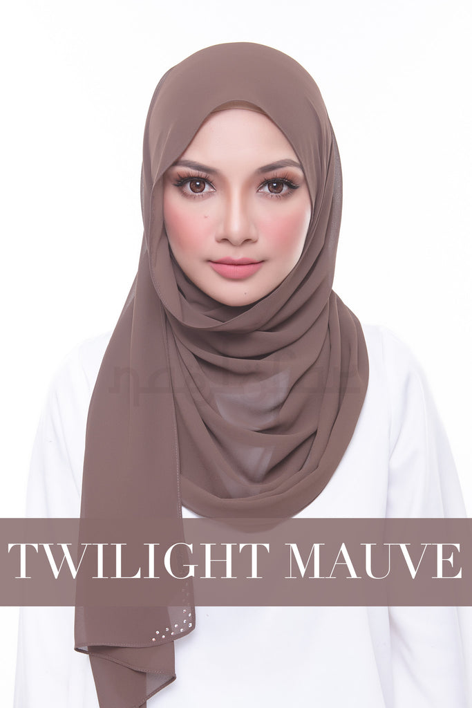 MISS LOFA PLAIN - TWILIGHT MAUVE
