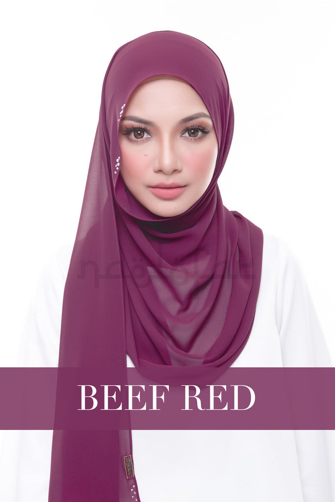 MISS LOFA SWAROVSKI - BEEF RED