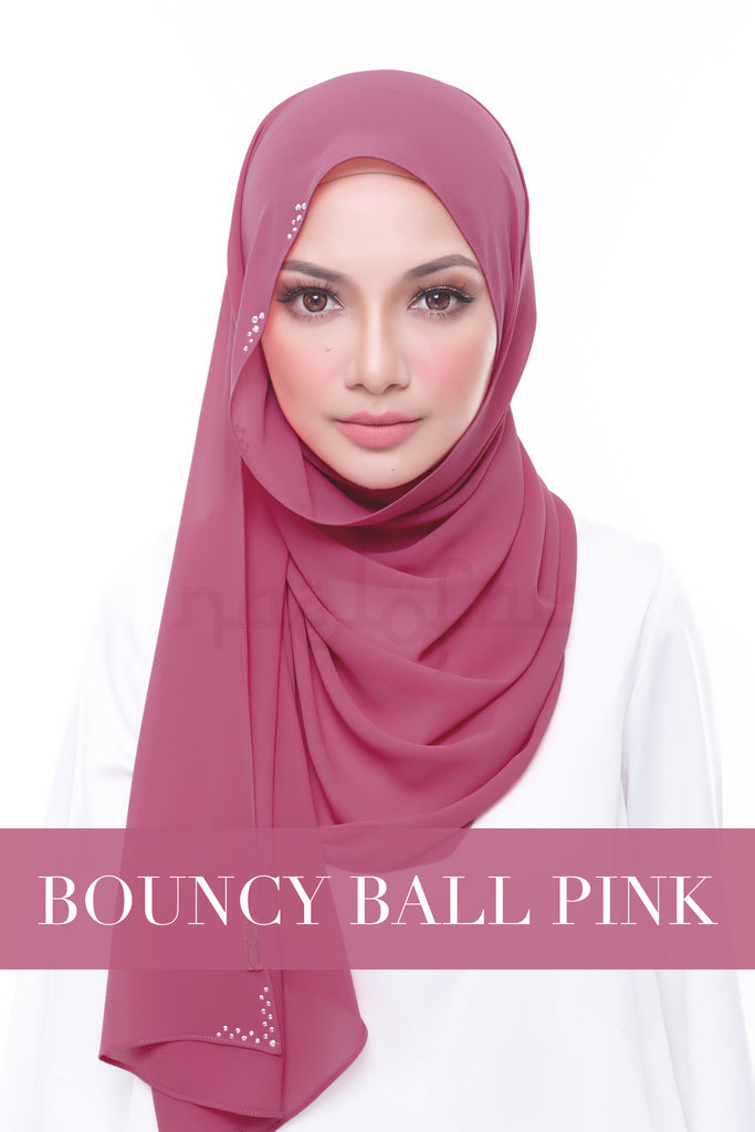 MISS LOFA SWAROVSKI - BOUNCY BALL PINK