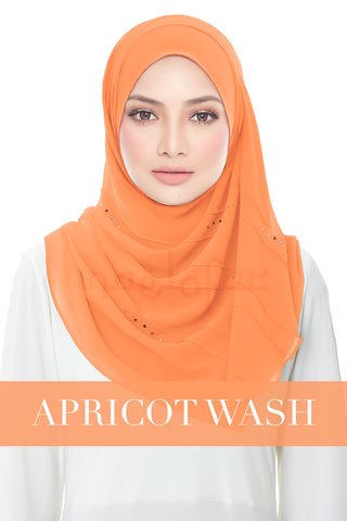 FORGOTTEN DREAMS - MOONLIGHT SWAROVSKI - APRICOT WASH