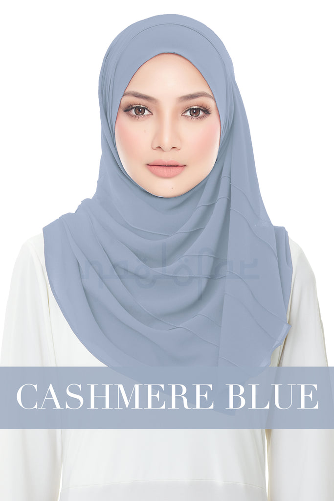 FORGOTTEN DREAMS - MOONLIGHT PLAIN - CASHMERE BLUE