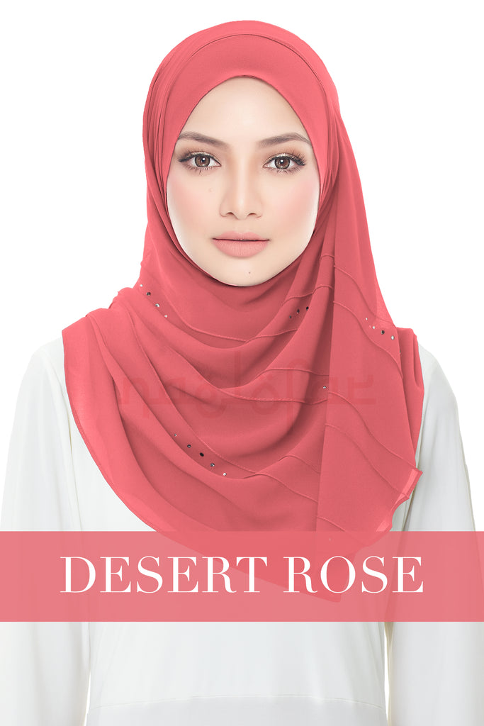 FORGOTTEN DREAMS - MOONLIGHT SWAROVSKI - DESERT ROSE