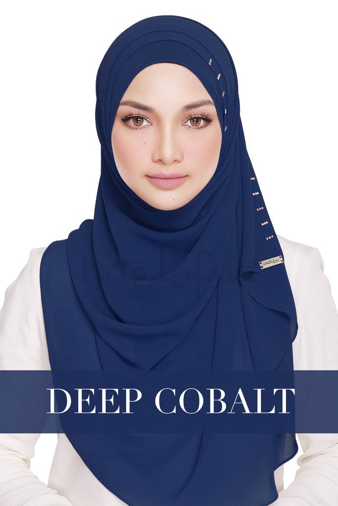 QUEEN WARDA - DEEP COBALT