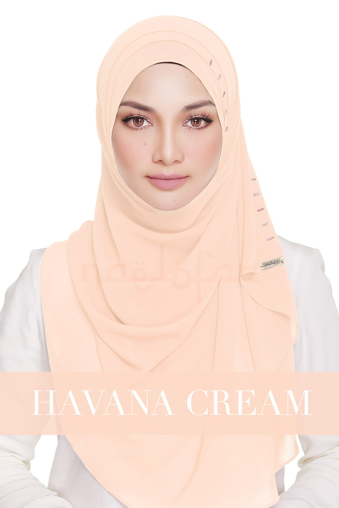 QUEEN WARDA - HAVANA CREAM