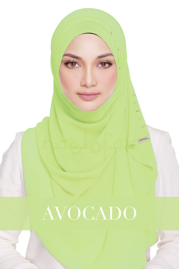 QUEEN WARDA - AVOCADO