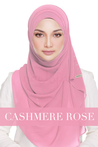 QUEEN WARDA - CASHMERE ROSE