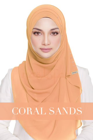 QUEEN WARDA - CORAL SANDS