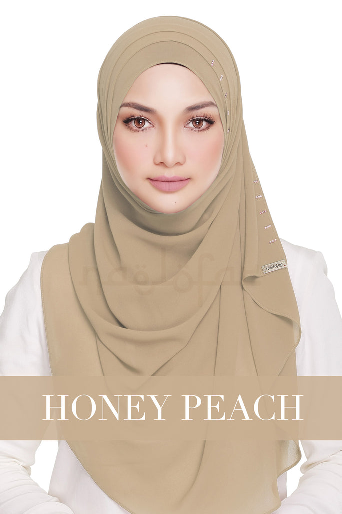 QUEEN WARDA - HONEY PEACH