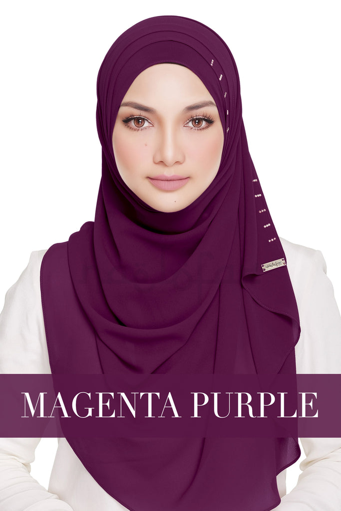 QUEEN WARDA - MAGENTA PURPLE