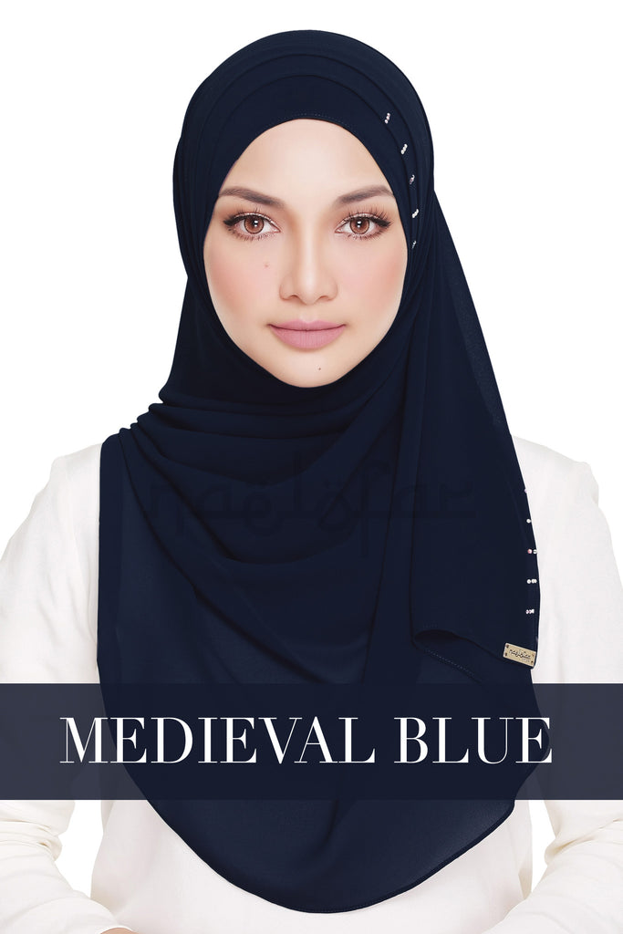 QUEEN WARDA - MEDIEVAL BLUE