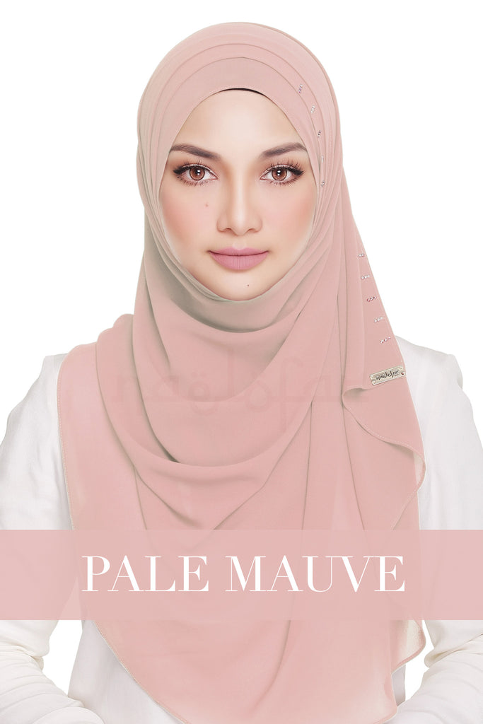 QUEEN WARDA - PALE MAUVE