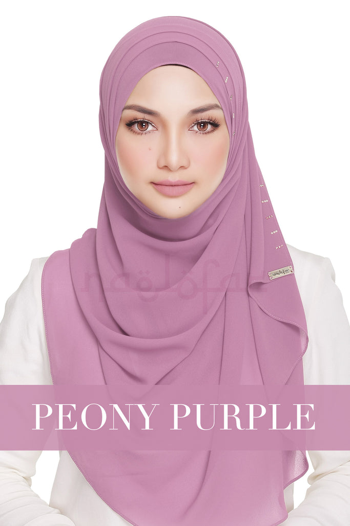 QUEEN WARDA - PEONY PURPLE