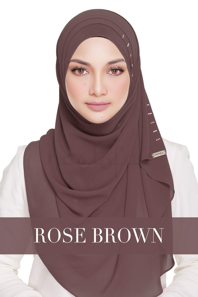 QUEEN WARDA - ROSE BROWN