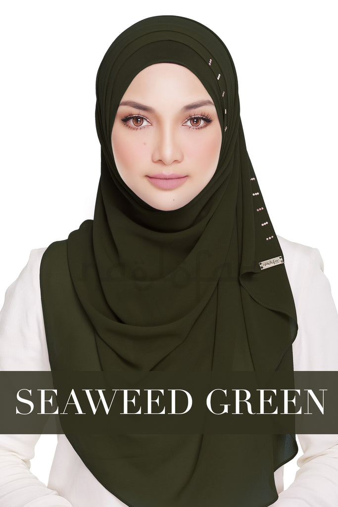 QUEEN WARDA - SEAWEED GREEN