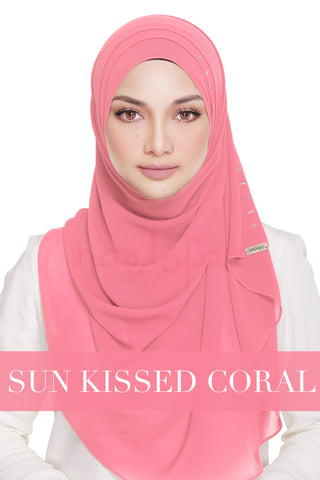 QUEEN WARDA - SUN KISSED CORAL