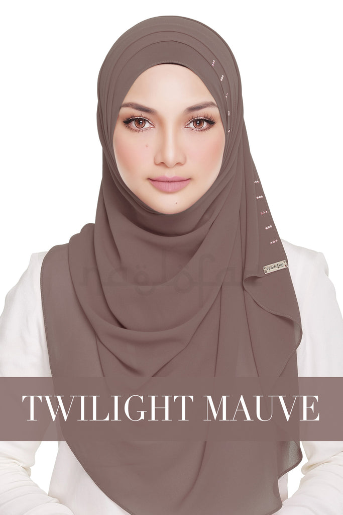 QUEEN WARDA - TWILIGHT MAUVE