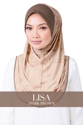 ROSEN - LISA (DARK BROWN)
