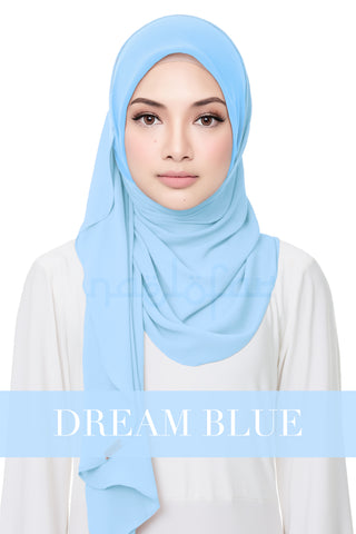 SWEET HELENA PLAIN - DREAM BLUE