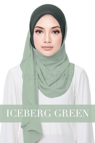 SWEET HELENA PLAIN - ICEBERG GREEN