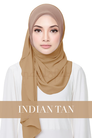 SWEET HELENA PLAIN - INDIAN TAN