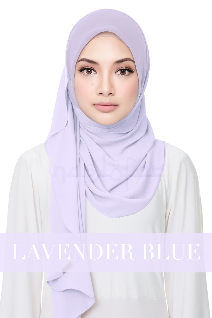 SWEET HELENA PLAIN - LAVENDER BLUE