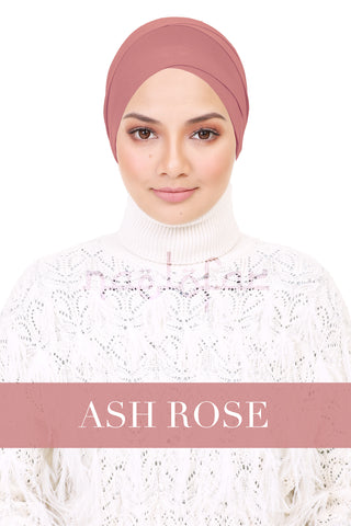 BE LOFA TURBAN - ASH ROSE
