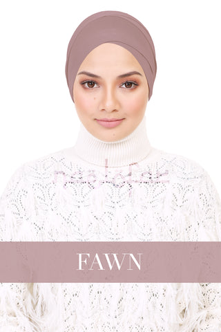 BE LOFA TURBAN - FAWN