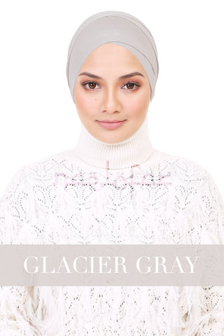 BE LOFA TURBAN - GLACIER GRAY